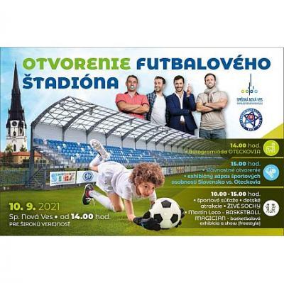 Otvorenie futbalového štadióna