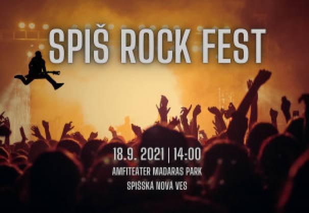 Spiš Rock Fest 2021 | spisskanovaves.eu