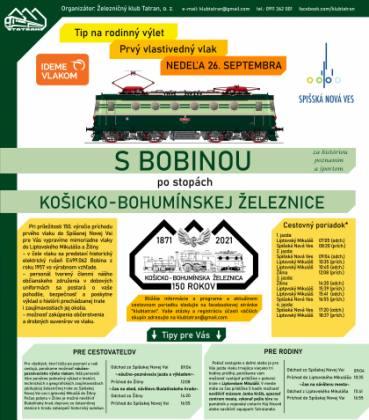 S Bobinou po stopách Košicko - Bohumínskej železnice | spisskanovaves.eu