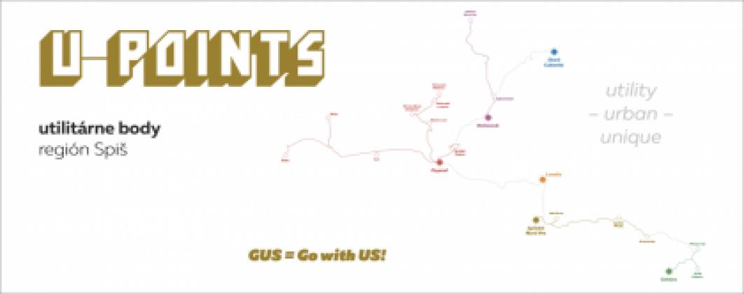 U-POINTS / s galériou po meste | spisskanovaves.eu