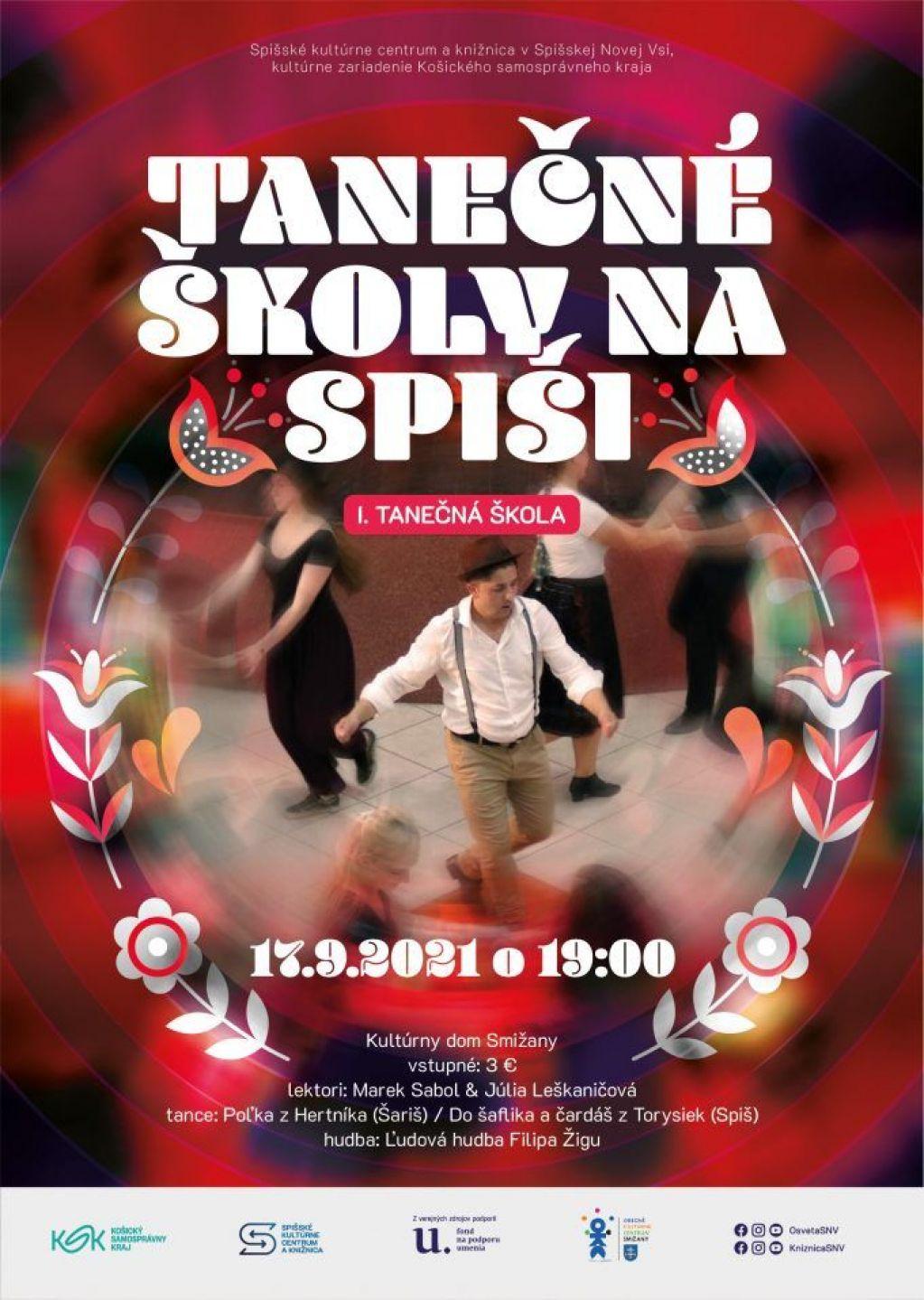 Tanečné školy na Spiši | spisskanovaves.eu