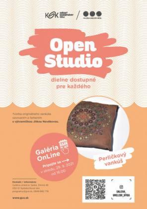 Open Studio: Perličkový vankúš   spisskanovaves.eu